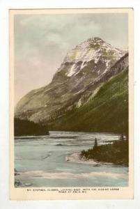 Eastward View, Mt. Stephen, 10,485 ft., Kicking Horse River, Field, British C...