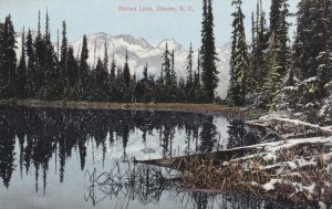GLACIER, British Columbia, Canada, 1900-1910s; Marion Lake