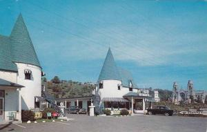 Twin Towers Motel, Ste. Anne De Beaupre, Quebec, Canada, 1940-1960s