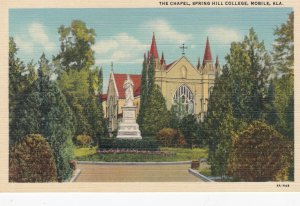MOBILE , Alabama , 1930-40s ; The Chapel , Spring Hill College