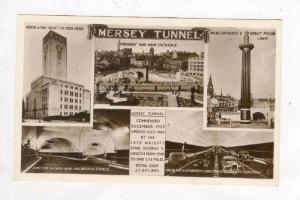 RP  Mersey Tunnel, Liverpool, 1930s 5-views