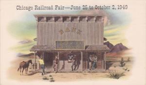 Illinois Chicago Railroad Fair 1949 Bank Of Gold Gulch