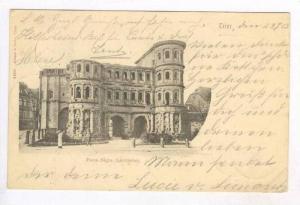 Porta Nigra (Landseite), Trier (Rhineland-Palatinate), Germany, PU-1903