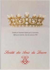 Societe des Amis du Louvre Diademe de l'imperatrice Eugenie par G Lemnonnier