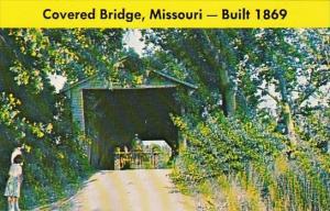 Missouri Paris Covered Bridge Built 1869