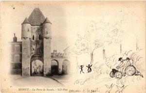 CPA MORET - La Porte de SAMOIS (292762)