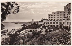 Bermuda The Castle Harbour Hotel Real Photo