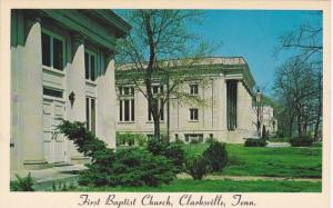 Baptist Church , Clarksville , Nortth Carolina , 40-60s