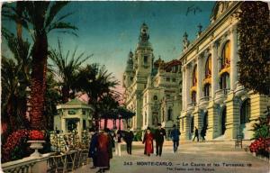 CPA AK MONACO - MONTE-CARLO - Le Casino et les Terrasses (476801)