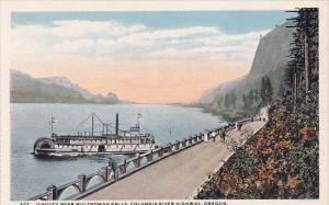 Oregon Columbia Highway Viaduct Multnomah Falls