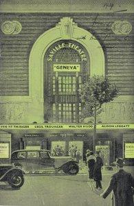 Geneva Saville Bernard Shaw Ernest Thesiger of Boris Karloff WW2 Theatre Prog...