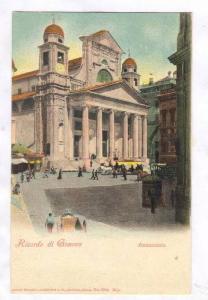 Ricordo di Genova, Italy, 1890s ; Annunziata