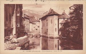 France Annecy Vieux Quartiers Palais de I'Ile 1926