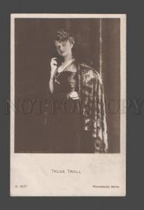 085791 TRUDE TROLL Famous MOVIE Star ACTRESS vintage PHOTO