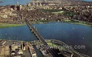 Longfellow Bridge Cambridge MA Unused