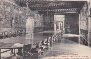 France Pau Le Chateau Grande Salle A Manger Et Table de 100 Couverts