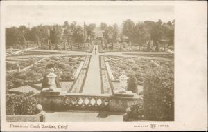 Drummond Castle Gardens Crieff UK