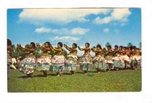 Meke dance by Fijian women, Fiji, 40-60s