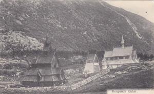 Church, Borgunds Kirker, Norway, 1900-1910s