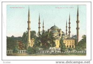 Constantinople, Mosquee Sultan Ahmed, 00-10s