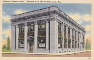 Soldiers' Service Center, Third And Main Streets, LITTLE ROCK, Arkansas, 1930...