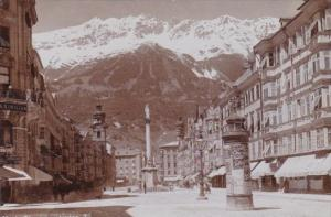 Austria Innsbruck Maria-Theresienstrasse Real Photo