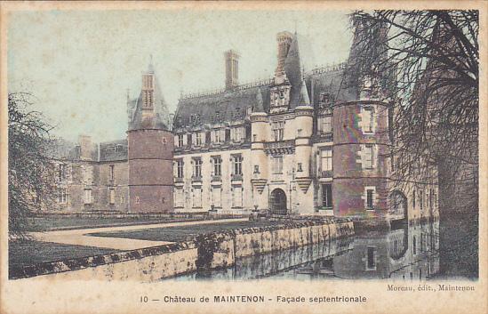France Chateau de Maintenon Facade Septentrionale