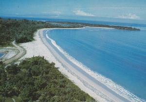 Natadola Beach Fiji Viti Levu Postcard