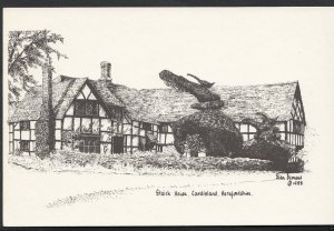 Herefordshire Postcard - Staick House, Eardisland  WC166