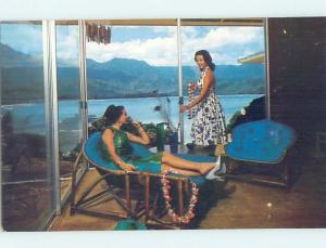 Pre-1980 HOTEL SCENE Kauai Hawaii HI H0855