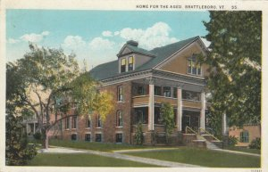 BRATTLEBORO , Vermont , 1929 ; Home for the Aged