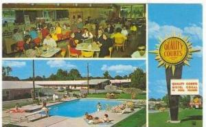 Highway 301: Quality Courts Motel Coral & Restaurant, Rocky Mount, North Caro...