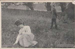 Oh To Call Her Mine Lustful Love Possession Thoughts Antique Postcard