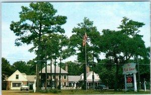 MYRTLE BEACH, South Carolina SC ~ THE PINK HOUSE HOTEL Roadside c1950s Postcard