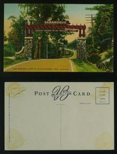 Gananoque  western gate to thousand islands G-VG