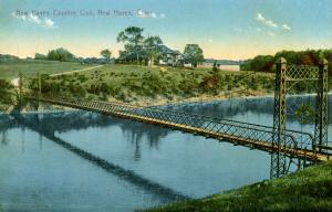 CT - New Haven - Bridge at Country Club Entrance