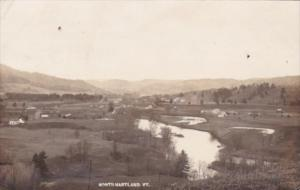 Panorama North Hartland Vermont 1916 Real Photo