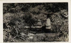 LANGTON , Ontario, 1930s ; Fish Pond , Sacred Heart Church