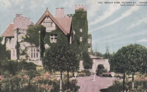 VICTORIA, British Columbia, Canada, 1900-1910s; Hatley Park