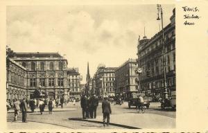 austria, WIEN VIENNA, Kärntnerstrasse (1930s) RPPC Postcard