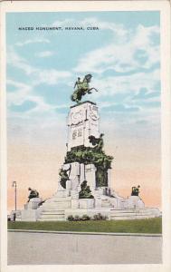 Cuba Havana Maceo Monument