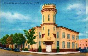 New York Kingston Municipal Auditorium