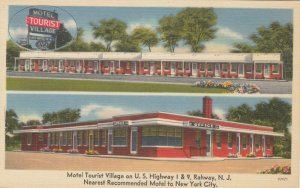 RAHWAY , New Jersey, 30-40s ; Motor Tourist Village