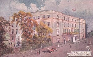 Regent Hotel , ROYAL LEAMINGTON SPA , UK , 00-10s ; Artist Jotter