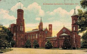 USA Washington D.C Smithsonian Institution and more Postcard Lot of 10 01.19