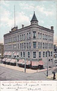 New York Albany Business College 1906