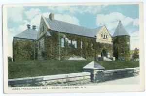 James Prendergast Free Library, Jamestown, New York, White Border