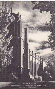 Colorado Greeley Gunter Hall Colorado State College of Education Artvue