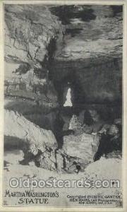Matha Washington's Statue, H.C. ganter Ben Hains Mining Postcard Postcards  M...