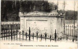 CPA Ermenonville- Le Tombeau de J.J. Rousseau FRANCE (1020490)